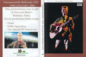 David Bowie 1998-01-29 ,New York City - Howard Stern Birthday Party (14 min)