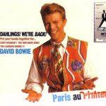 David Bowie 1990-04-03 Paris ,Palais Omnisports - Paris Au Printemps - SQ 8+