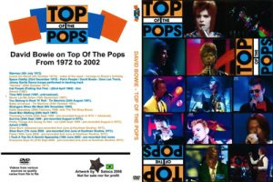David Bowie On Top Of The Pops from 1972-2002 (full pro-shot)