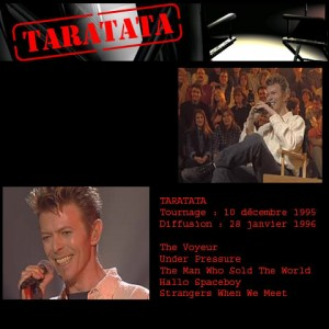 David Bowie 1996-01-28 Taratata 1996 ,Live at Taratata French TV - SQ 9