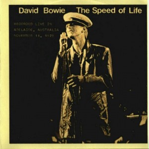 David Bowie Speed Of Life 1978