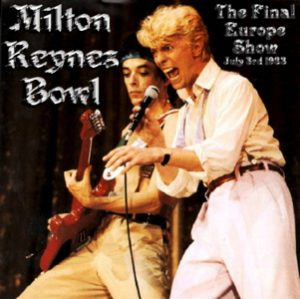 David Bowie 1983-07-03 Milton Keynes ,Milton Keynes Bowl - (Diedrich) - SQ 8,5