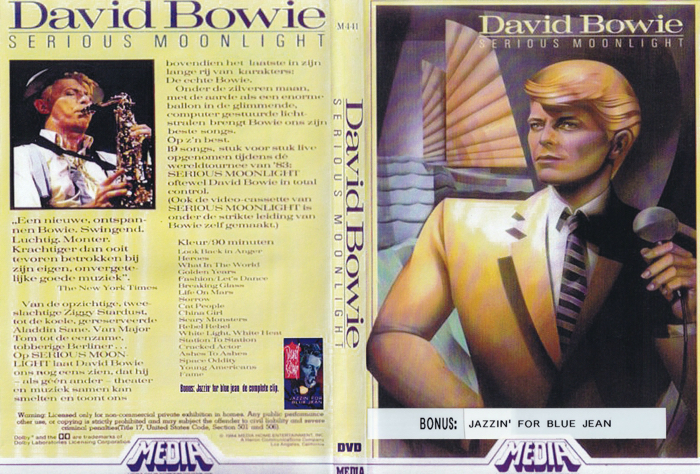 David Bowie Serious Moonlight 1983