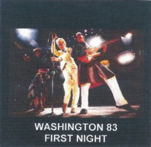 David Bowie 1983-08-27 Landover ,Washington DC ,Capital Center - Washington 83 1st Night - SQ -8