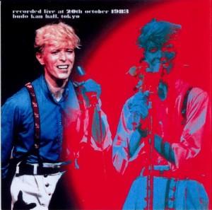 David Bowie 1983-10-20 Tokyo ,Budokan Hall (Diedrich) - SQ 8
