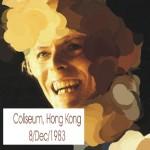 David Bowie 1983-12-08 Hung Hom (Hong Kong City)  ,Hong Kong Coliseum (Diedrich) – SQ 7