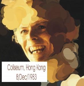 David Bowie 1983-12-08 Hung Hom (Hong Kong City) ,Hong Kong Coliseum (Diedrich) - SQ 7