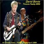 David Bowie 2004-04-01 -Toronto ,Air Canada Center - Toronto Reality 2004 - (DIEDRICH) - SQ -9