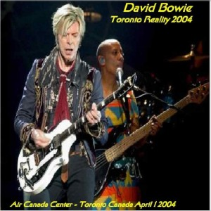 David Bowie 2004-04-01 -Toronto ,Air Canada Center - Toronto Reality 2004 - (DIEDRICH) - SQ -9