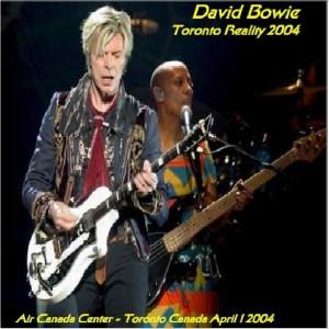 David Bowie 2004-04-01 -Toronto ,Air Canada Center - Toronto Reality 2004 - SQ -9