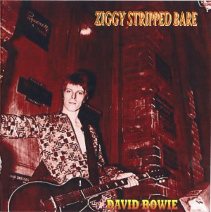 David Bowie Ziggy Stripped Bare (Ziggy Stardust remix project) - SQ 9