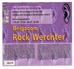David Bowie 1997-07-05 Werchter,Belgium