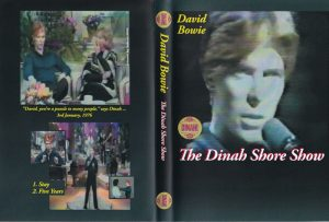 David Bowie 1976-01-03 The Dinah Shore Show - USA T.V. (48 minutes) (VCD) footage includes: