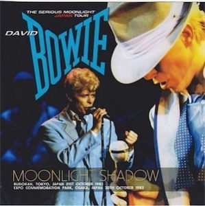 David Bowie 1983-10-21 Tokyo ,Budokan Arena (a part of the Moonlight Shadow) - SQ 8,5