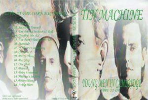 Tin Machine 1991-11-09 Cambridge ,Corn Exchange - Young Men In Cambridge -