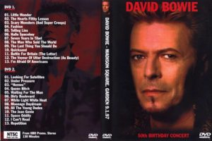David Bowie 1997-01-09 New York City ,Madison Square Garden - 50th Birthday Concert (David Bowie and Friends)
