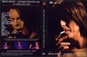 David Bowie 1999-12-02 Astoria Theatre 1999–Live At The Astoria Theatre, London