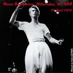 David Bowie 1978-04-24 Milwaukee ,Mecca Auditorium - live in Milwaukee 1978 - (DIEDRICH) - SQ -6