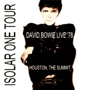 David Bowie 1978-04-09 Houston, TX, USA (blackout)