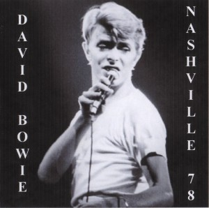 David Bowie 1978-04-13 Nashville ,Municipal Auditorium - Live In Nashville 1978 - (blackout) - SQ 8