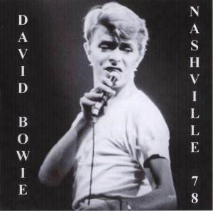 David Bowie 1978-04-13 Nashville ,Municipal Auditorium - Live In Nashville 1978 - (blackout) - SQ 8