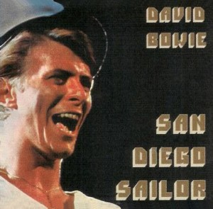 David Bowie 1978-03-29 San Diego ,Sports Arena - San Diego Sailor - (blackout) - SQ 7