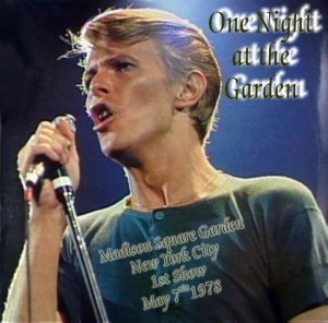 David Bowie 1978-05-08 New York ,Madison Square Garden - One Night At The Garden - (remastered by halloween jack) - SQ 8