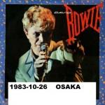 David Bowie 1983-10-26 Osaka ,Funitsu Taikaikan (SK) –  SQ 8,5