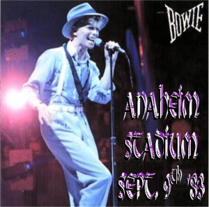 David Bowie 1983-09-09 Anaheim,USA - SQ 7,5