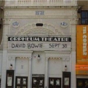 David Bowie 1997-09-30 Boston ,Orpheum Theatre (SK version)