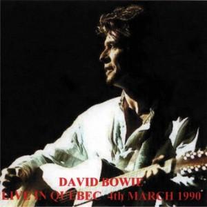 David Bowie 1990-03-04 Québec City ,Colisée de Québec - Live In Québec - (blackout - 1st gen.) - SQ 8+
