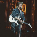 David Bowie 1987-07-31 Philadelphia , Veteran's Stadium  (1st gen. Sean Doherty – blackout) – SQ -8
