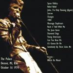 David Bowie 1974-10-16 Detroit ,Michigan Palace – SQ 6,5 (DIEDRICH)