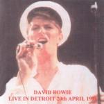 David Bowie 1978-04-20 Detroit ,Michigan Cobo Arena – Live in Detroit – (Re-master) – SQ 8