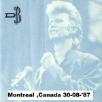 David Bowie 1987-08-30 Montreal ,Olympic Stadium – Montreal 87 Vol. 1 & 2 – SQ -9