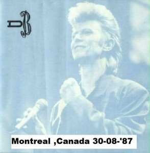 David Bowie 1987-08-30 Montreal ,Olympic Stadium - Montreal 87 Vol. 1 & 2 - (Diedrich) - SQ -9