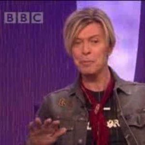 David Bowie 2002-09-19 The Michael Parkison Show ,BBC 1 ,Recorded in London 2002-09-19 (only 2 Tracks) - SQ 9,5