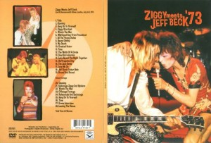 David Bowie Ziggy Meets Jeff Beck'73
