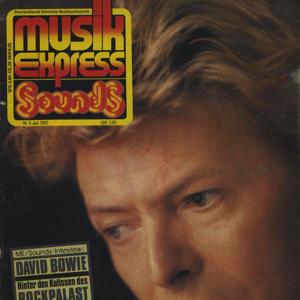 David Bowie Interview for German music magazine MusikExpress - sounds 1983 - SQ 8,5