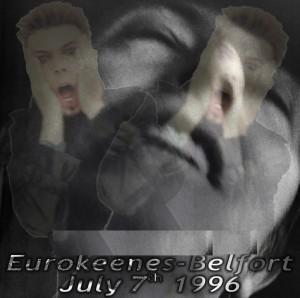 David Bowie 1996-07-07 Belfort ,Eurokeenes Festval