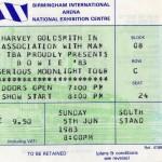 David Bowie 1983-06-05 Birmingham ,National Exhibition Centre (Off master , RAW) – SQ 8