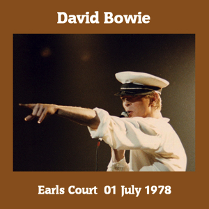 David Bowie 1978-07-01 London ,Earl's Court Arena (Matrix - RM Learm) - SQ -8