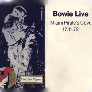 David Bowie 1972-11-17 Dania ,Pirates Cove Amusement Park - (Jayhawk1985s tape) - SQ 6+