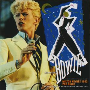 David Bowie 1983-07-02 Milton Keynes ,Milton Keynes Bowl - Milton Keynes 1983 2nd Night - SQ 8,5