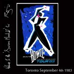 David Bowie 1983-09-04 Toronto ,Canadian National Exhibition Grandstand – SQ 8,5
