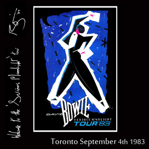 David Bowie 1983-09-04 Toronto ,Canadian National Exhibition Grandstand - SQ 8,5
