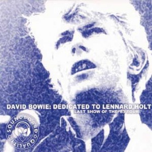 David Bowie 1983-07-03 Milton Keynes ,Milton Keynes Bowl - Dedicated To Lennard Holt - (RV) - SQ 8,5