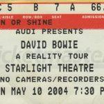 David Bowie 2004-05-10 Kansas City ,Starlight Theatre (The Phog IEM) - SQ 7,5