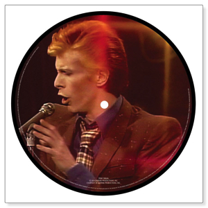 David Bowie Promotional disc from David Live 1974