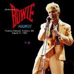David Bowie 1983-08-31 Foxborough ,Sullivan Stadium – SQ 8